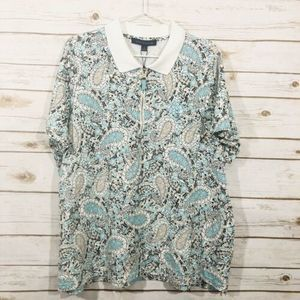 Tommy Hilfiger Heritage Cotton Paisley Blouse EP27